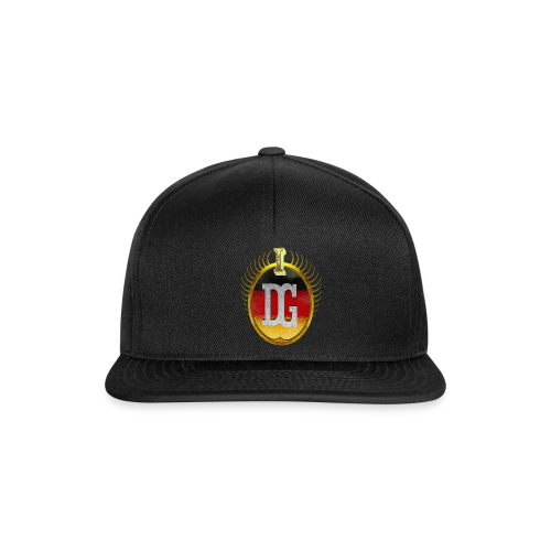 Snapback Cap Schwarz Division Ghost - Snapback Cap