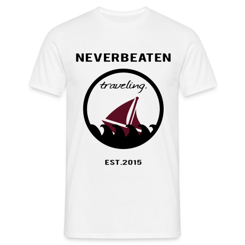 traveling.  - Männer T-Shirt