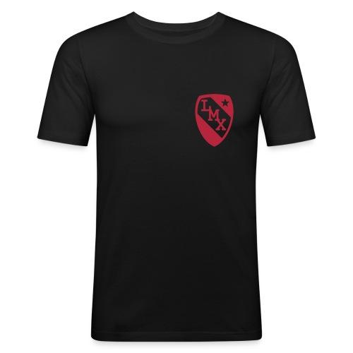 Tshirt homme blason rouge - T-shirt près du corps Homme