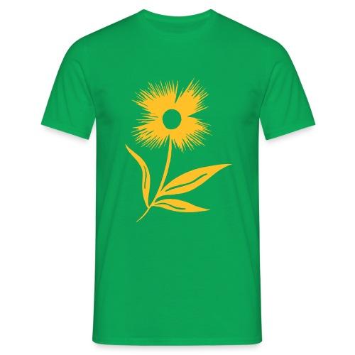 Blumen T-Shirt - Männer T-Shirt