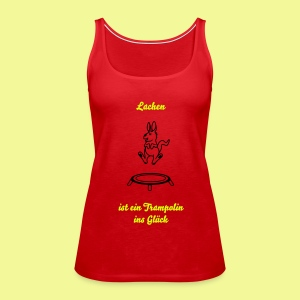 Trampolin - Frauen Premium Tank Top