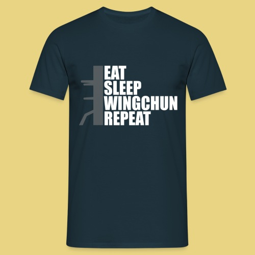 eat sleep CHUN dummy - Men's T-Shirt