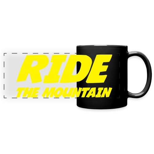 mug RIDE THE MOUNTAIN - Mug panoramique uni