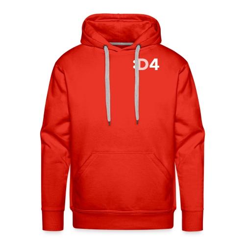 D4 Hoodie - Men's Premium Hoodie