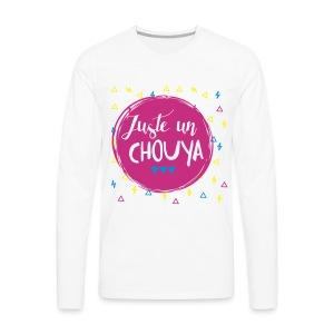 T-shirt UN CHOUYA - T-shirt manches longues Premium Homme