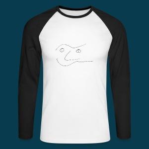 Shirt Chabisface Sosolala - Männer Baseballshirt langarm