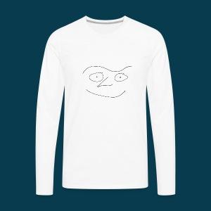 Shirt Chabisface Fast Happy - Männer Premium Langarmshirt