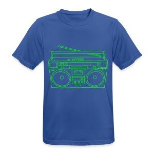 Ghettoblaster - Männer T-Shirt atmungsaktiv