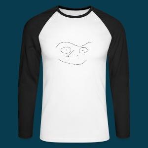 Shirt Chabisface Fast Happy - Männer Baseballshirt langarm