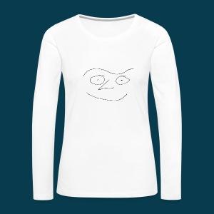 Shirt Chabisface Fast Happy - Frauen Premium Langarmshirt