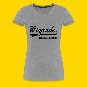 Wizards T-Shirt Frauen grey - Frauen Premium T-Shirt