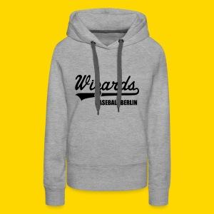 Wizards Hoody Frauen grey - Frauen Premium Hoodie