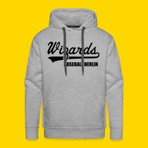 Wizards Hoody Männer grey - Männer Premium Hoodie