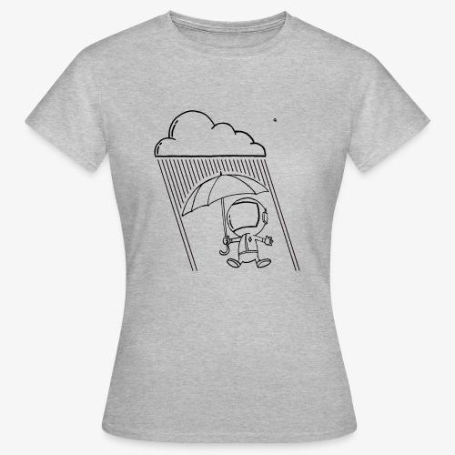 rain on an astronaut - T-shirt Femme