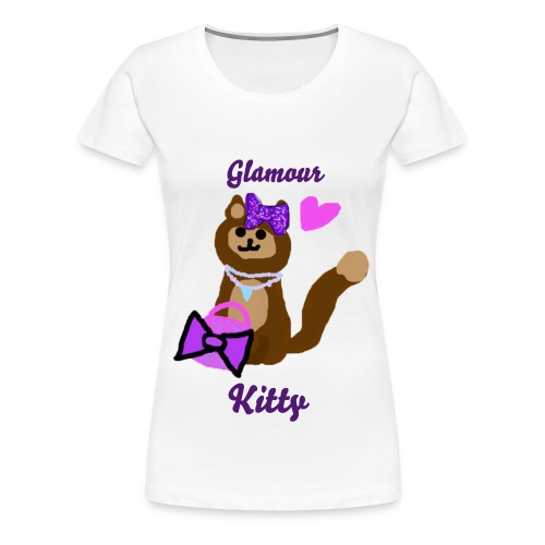 Glamour Kitty - Women's Premium T-Shirt
