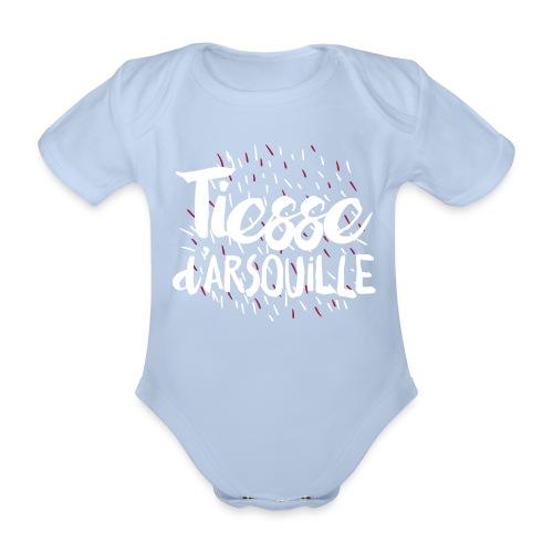 Body TIESSE d'ARSOUILLE - Body bébé bio manches courtes