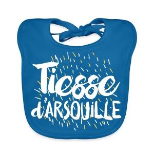 Bavoir TIESSE d'ARSOUILLE - Bavoir bio Bébé