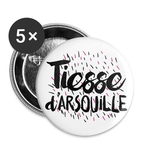 Badge 56 mm TIESSE d'ARSOUILLE - Lot de 5 grands badges (56 mm)