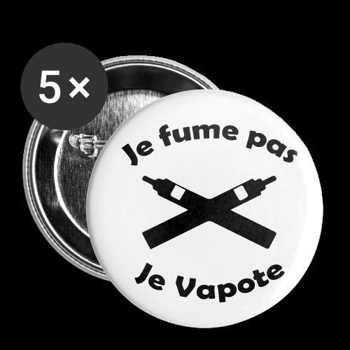 Badges - Je fume pas Je Vapote - Badge moyen 32 mm