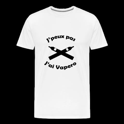 T-Shirt H - J'peux pas J'ai Vapéro - T-shirt Premium Homme