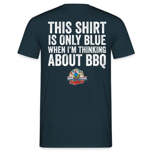 Thinking Blue T-Shirt - Gents - Mannen T-shirt