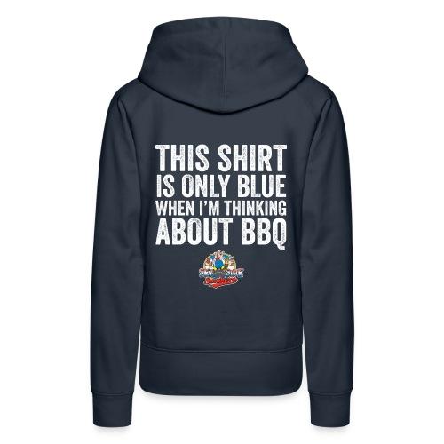 Thinking Blue Hoodie - Ladies - Vrouwen Premium hoodie