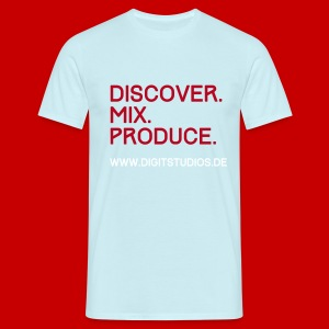 discover.mix.produce.v2 - Männer T-Shirt