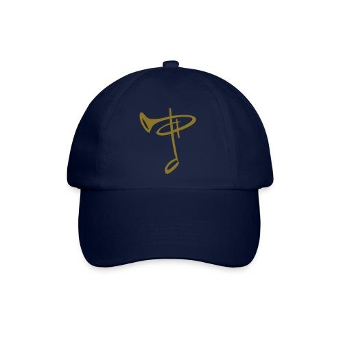 BaseCap Logo Goldfolie - Baseballkappe