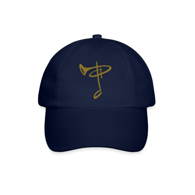 BaseCap Logo Goldfolie