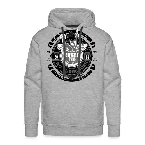 Strong Mind Strong Body Hoody  - Männer Premium Hoodie