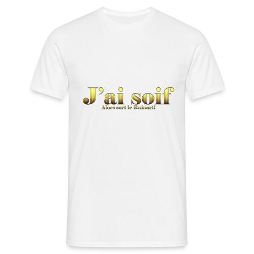 J'ai soif! Version Champagne - T-shirt Homme