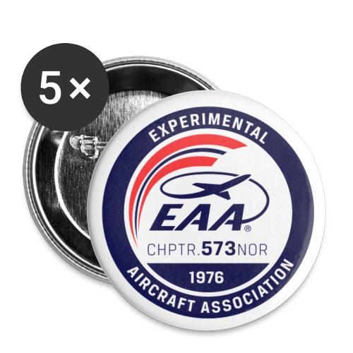 EAA573 Buttons - Liten pin 25 mm (5-er pakke)