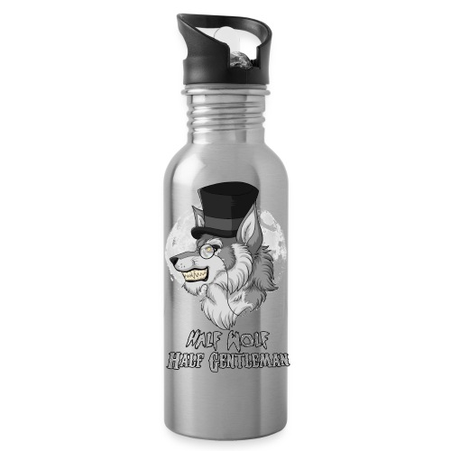 Half Wolf Half Gentleman - Water Bottle - Bidon