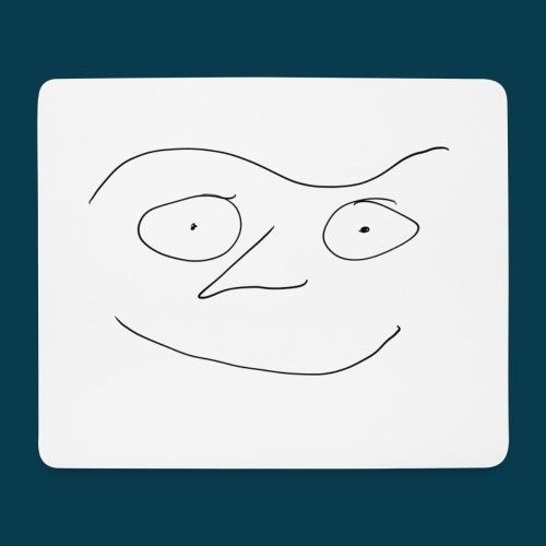 Mausmatte Chabisface Fast Happy - Mousepad (Querformat)