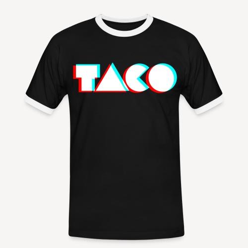 TACO Classic. Heren contrast t-shirt - Mannen contrastshirt