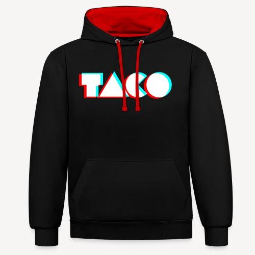 TACO Classic. Heren hoodie - Contrast hoodie