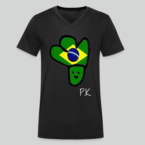 P.K. Brasilia Edition - Männer Bio-T-Shirt mit V-Ausschnitt von Stanley & Stella