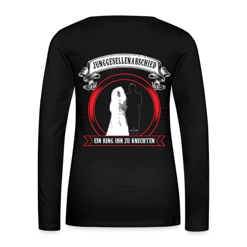 HELP ME ! Junggesellenabschied JGA - Frauen Premium Langarmshirt