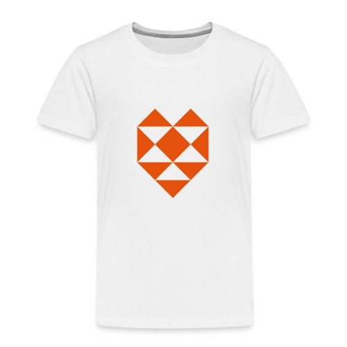 Kinder T-Shirt HeART (dreieckig) - Kinder Premium T-Shirt