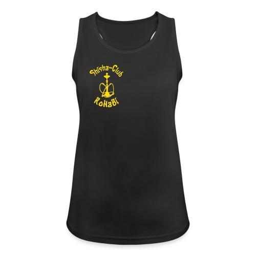 Shisha-Top (schwarz) - Frauen Tank Top atmungsaktiv