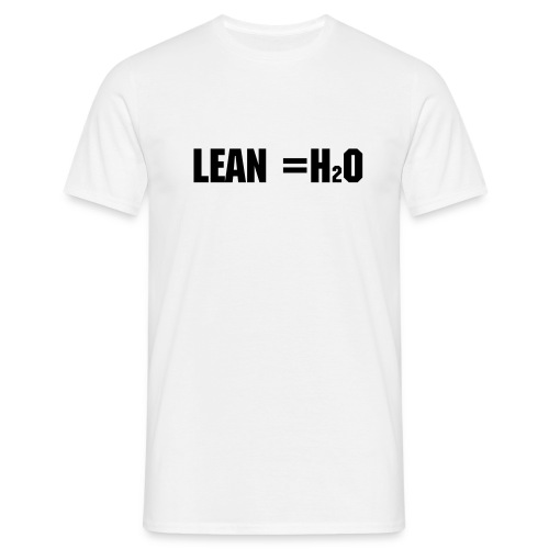 H20 LEAN SAME THING - Men's T-Shirt