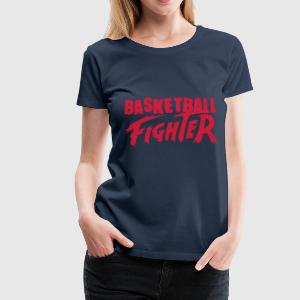Basketball-Kämpfer T-Shirts - Frauen Premium T-Shirt
