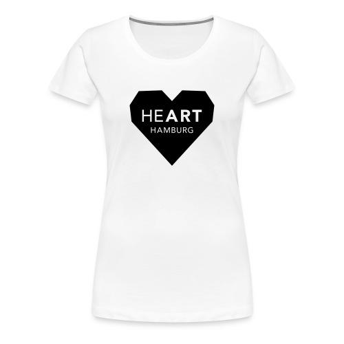 Damen T-Shirt HeART - Frauen Premium T-Shirt