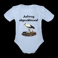 Klapperstorch Baby Geburt/Taufe Body