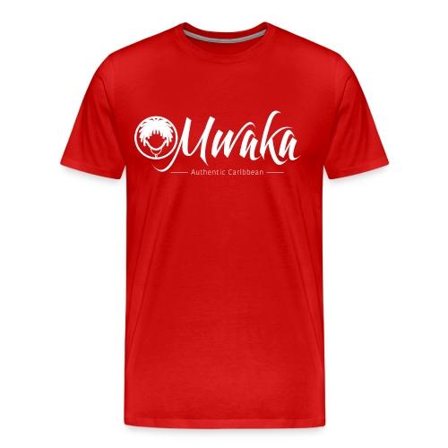 T-Shirt Homme MWAKA Logo Blanc - T-shirt Premium Homme