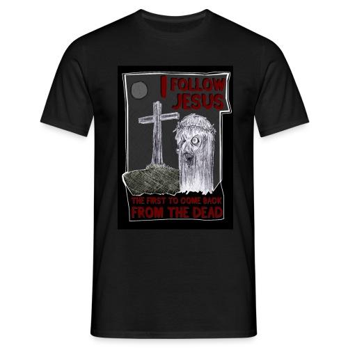 I FOLLOW JESUS - Männer T-Shirt