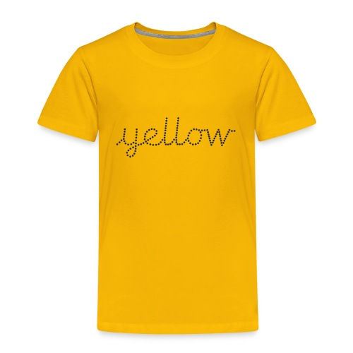 Yellow - Kids' Premium T-Shirt