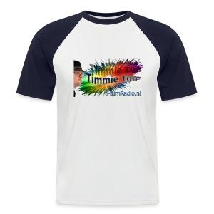 Timmie tijd - Mannen baseballshirt korte mouw