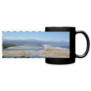 Mug South Africa Plattenberg Beach - Panoramatasse farbig