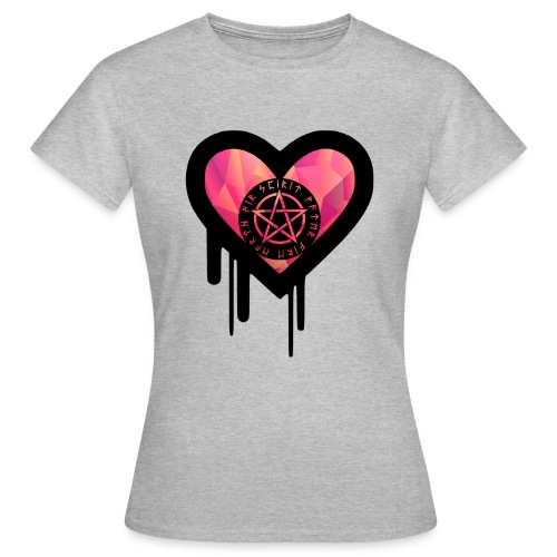 Okkult Heart - Frauen T-Shirt